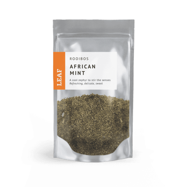 African Mint Rooibos Loose Leaf Tea Small Two Taster Bag