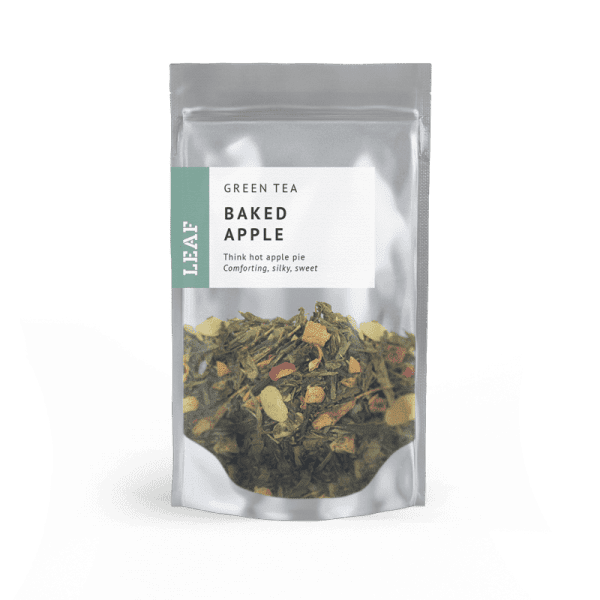 Baked Apple Green Loose Leaf Tea Small Two Taster Bag