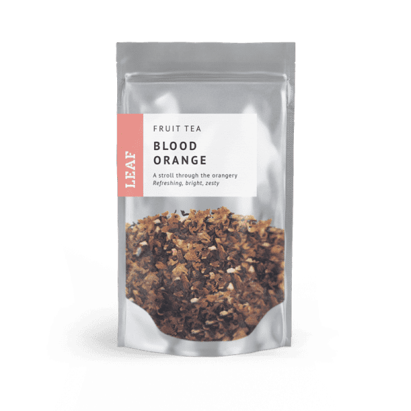 Blood Orange Fruit Loose Leaf Tea Small Two Taster Bag