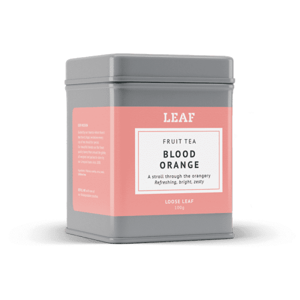 Blood Orange Fruit Loose Leaf Tea Tin