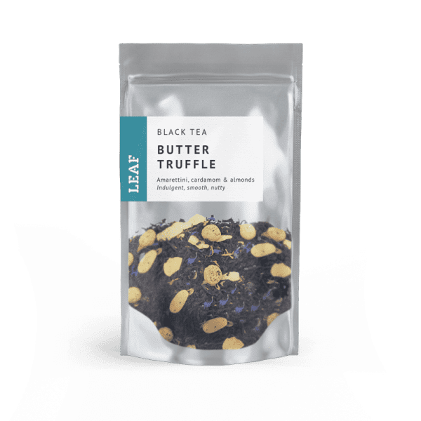 Butter Truffle Black Loose Leaf Tea Small Two Taster Bag