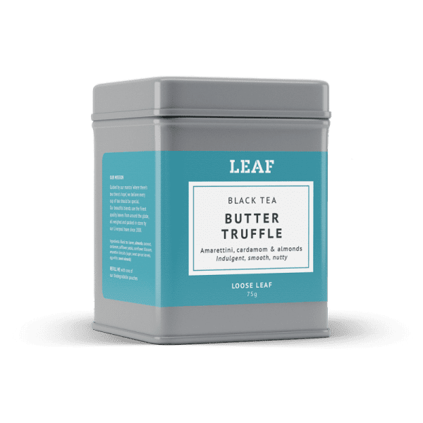 Butter Truffle Black Loose Leaf Tea Tin
