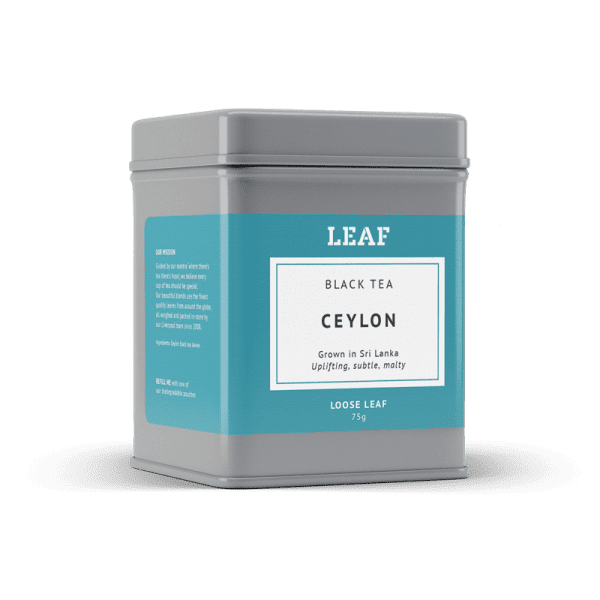 Ceylon Loose Leaf Tea Tin