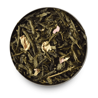 Cherry Blossom Loose Leaf Green Tea Leaves