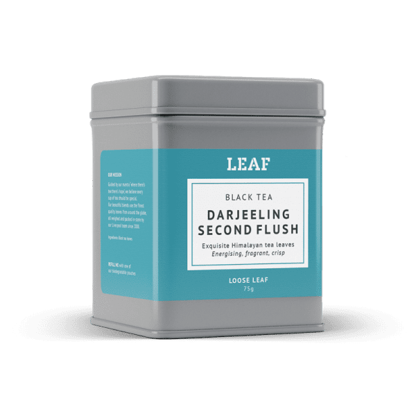 Darjeeling Second Flush Loose Leaf Tea Tin