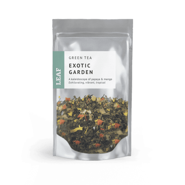 Exotic Garden Green Loose Leaf Tea Small Two Taster Bag