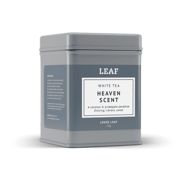 Heaven Scent White Loose Leaf Tea Tin