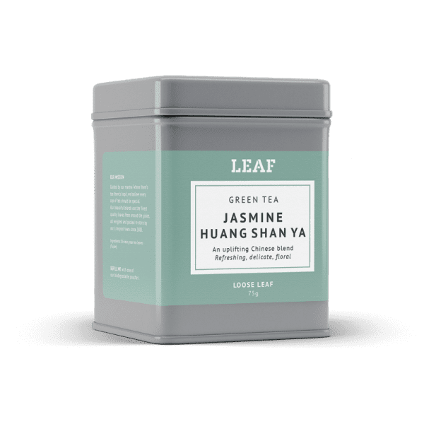 Jasmine Huang Shan Ya Green Loose Leaf Tea Tin