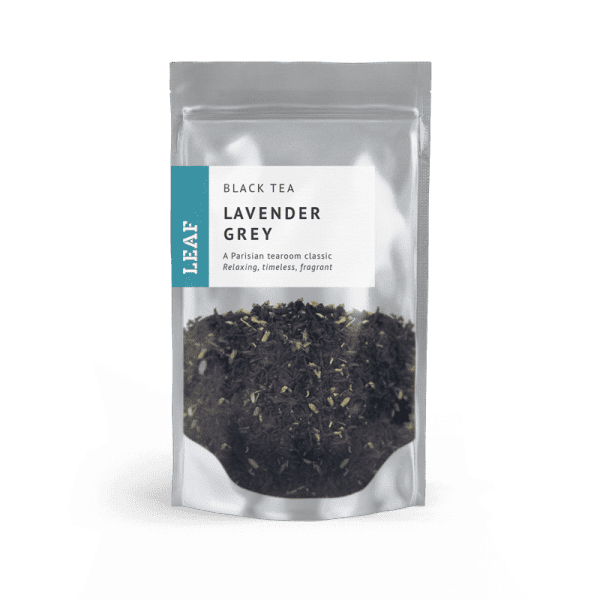 Lavender Grey Black Loose Leaf Tea Small Two Taster Bag