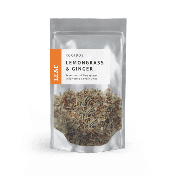 Lemongrass and Ginger Rooibos Loose Leaf Tea Small Two Taster Bag