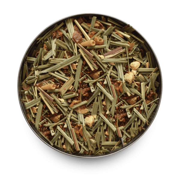 Lemongrass and Ginger Loose Leaf Rooibos Tea Leaves