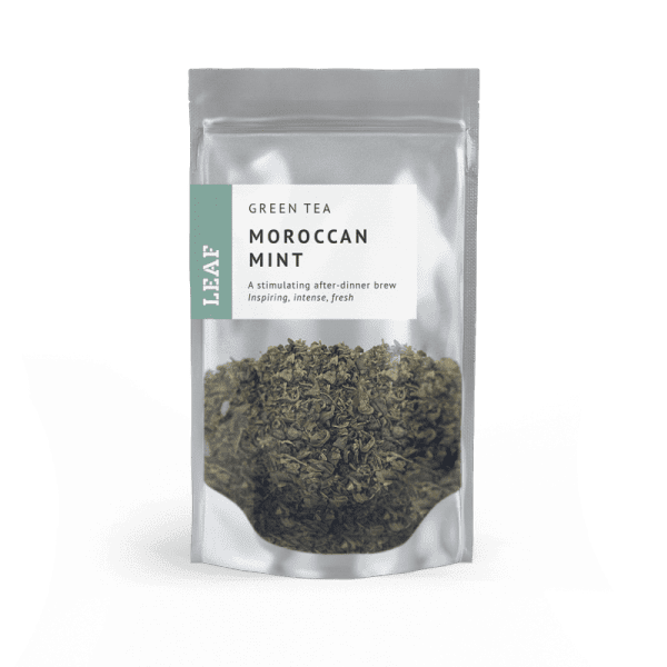 Moroccan Mint Green Loose Leaf Tea Small Two Taster Bag