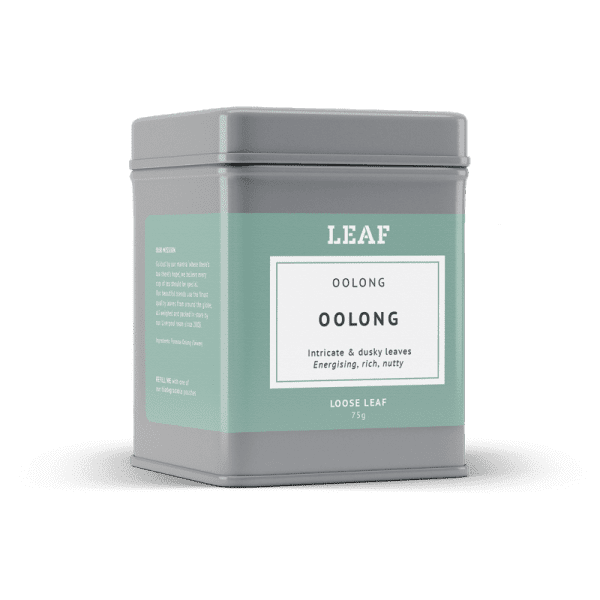 Oolong Loose Leaf Tea Tin