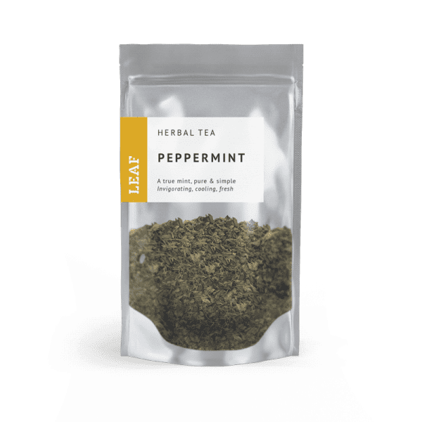Peppermint Herbal Loose Leaf Tea Small Two Taster Bag