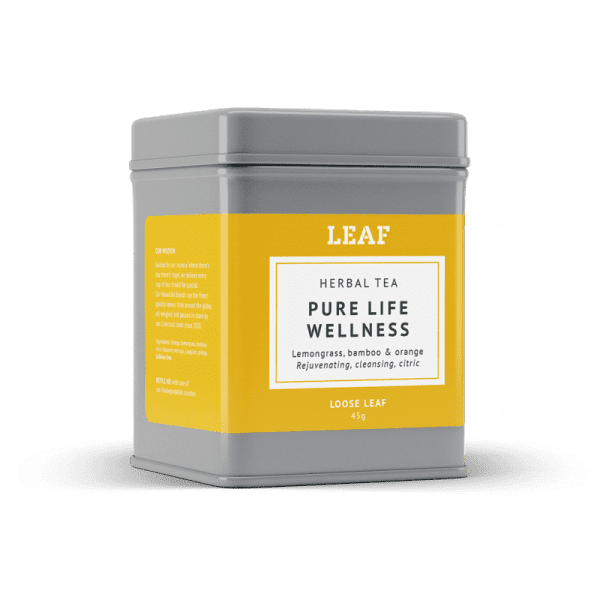Pure Life Wellness Herbal Loose Leaf Tea Tin