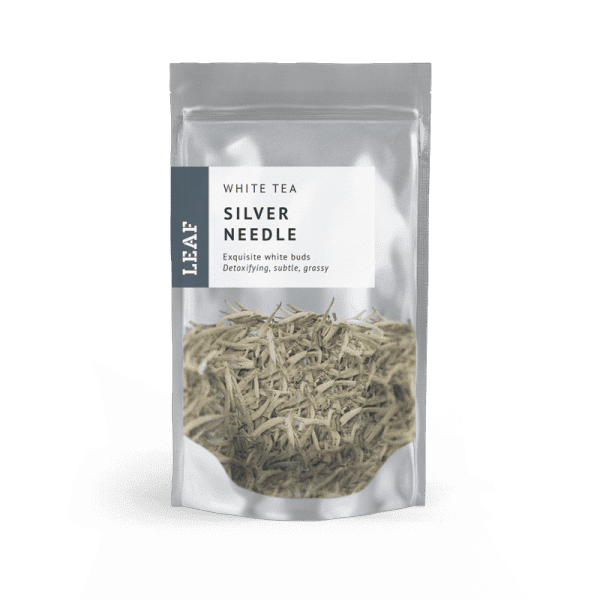Silver Needle White Loose Leaf Tea Small Two Taster Bag