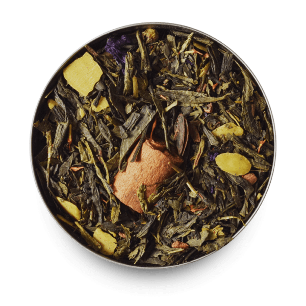 Spiced Green Loose Leaf Green Tea Leaves