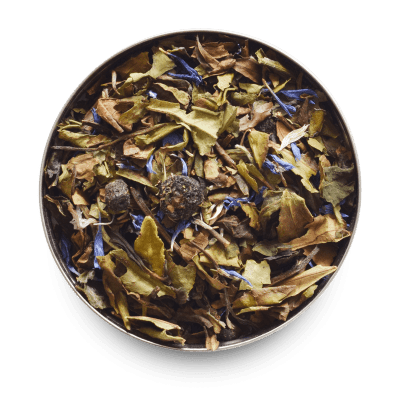 Sweet Blueberry Loose Leaf White Tea Leaves