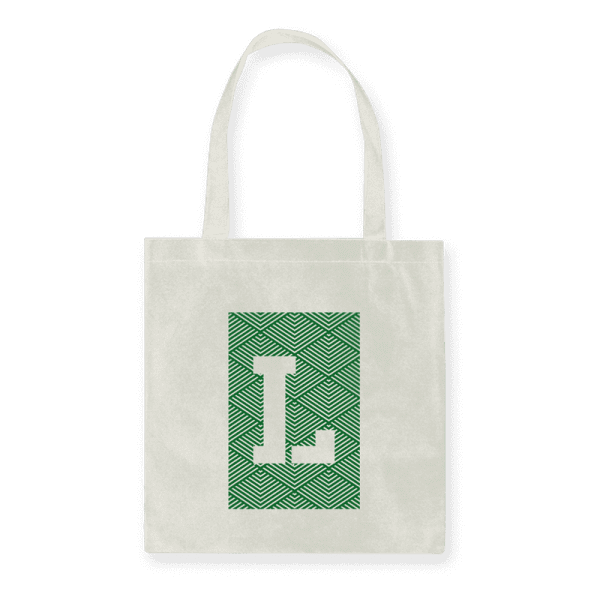 Leaf Tea Tote Bag with Leaf Logo printed on the bag
