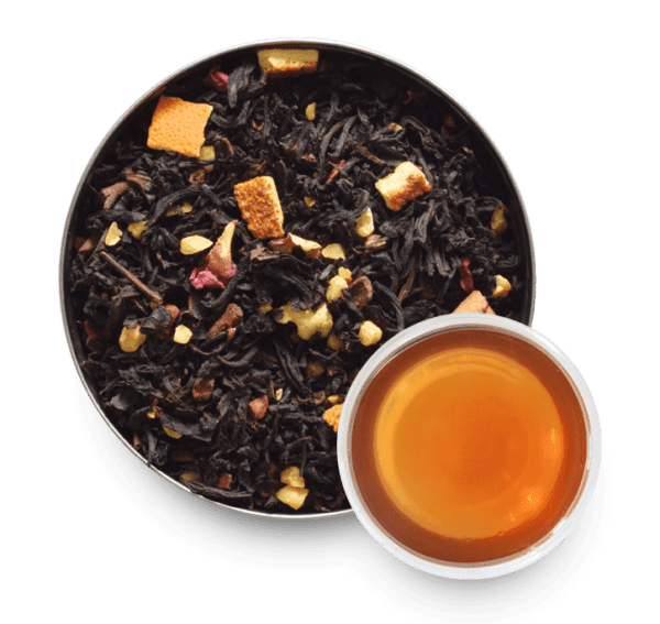 Autumn Fire Black Tea with Loose Leaf Tea Leaves