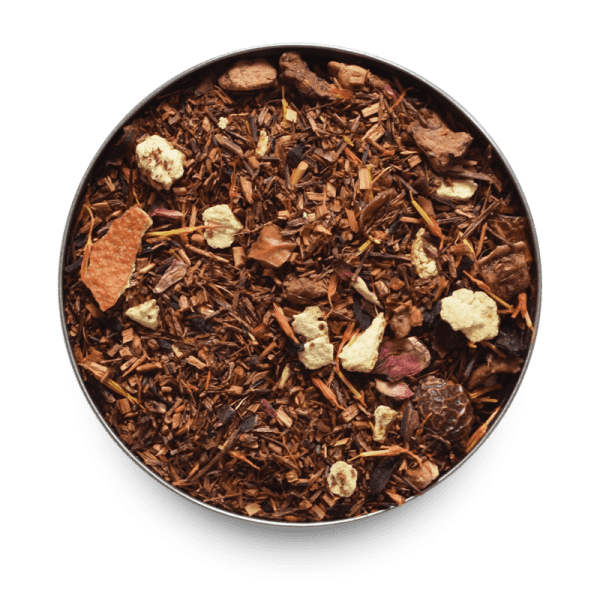 Blood Orange Rooibos Tea with Loose Leaf Tea Leaves