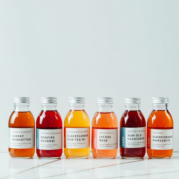 Six Bottled Tea Cocktails