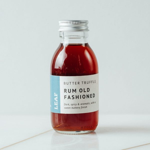 Butter Truffle, Rum Old Fashioned Bottled Tea Cocktail