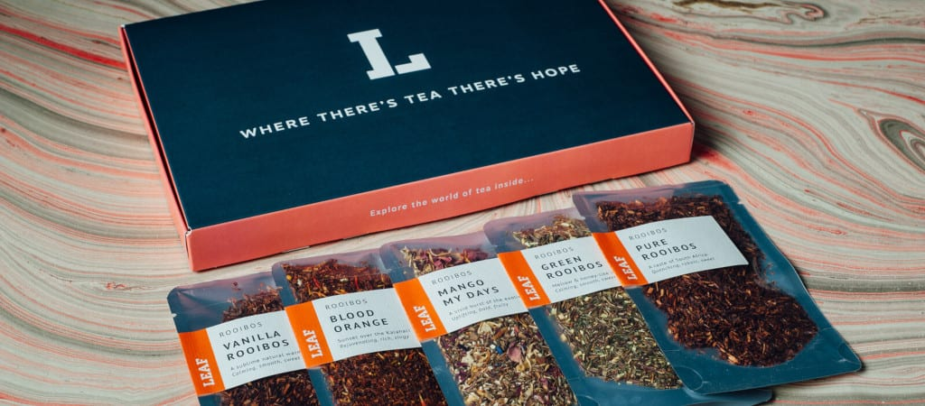 Leaf Tea Shop Rooibos Tea Taster Box