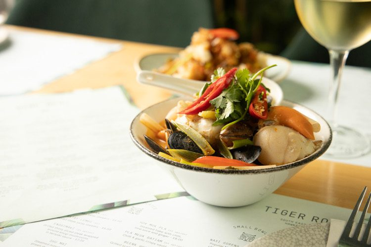 Thai Seafood in a bowl
