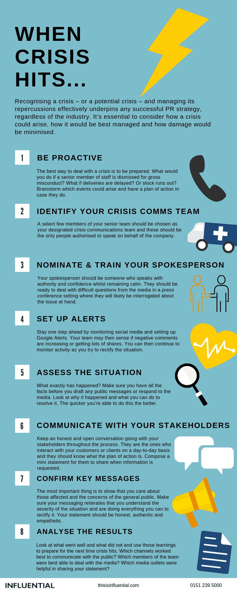 crisis management 9 step communications plan