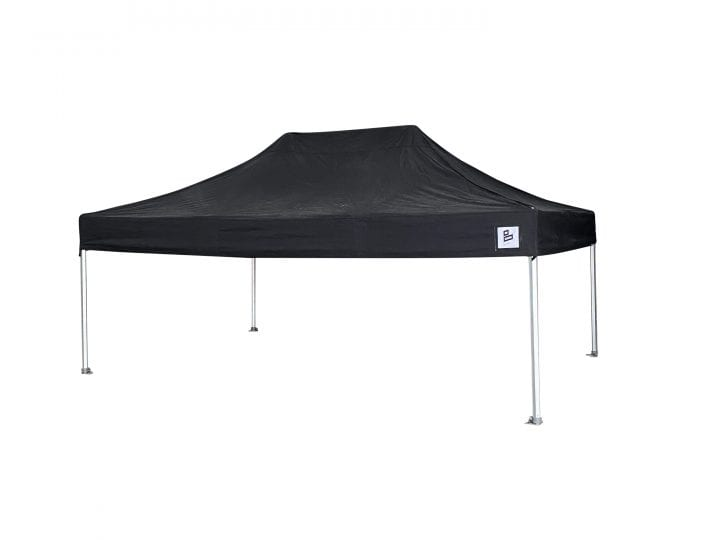 Big Kahuna pop up black gazebo