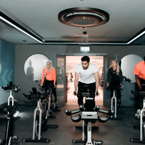 Spinning studio in the Leisure Club