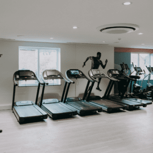 the Gym at the Leisure Club