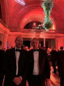 Intecho Directors, Paul Murphy & Ben Patterson in attendance at CEDIA Awards 2019