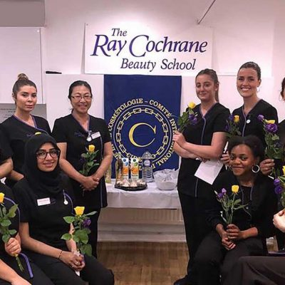 Study your beauty therapy course in London's most established beauty school - Ray Cochrane